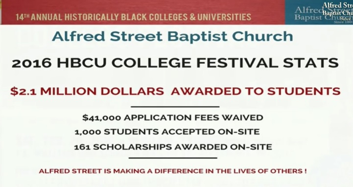 alfred street hbcus